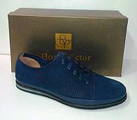 Туфли замшевые Boss Victor.