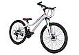 """Горный велосипед TopRider 900 26"""" Белый/Розовый, фото 2"""