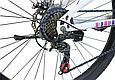 """Горный велосипед TopRider 900 26"""" Белый/Розовый, фото 4"""