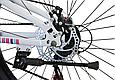 """Горный велосипед TopRider 900 26"""" Белый/Розовый, фото 7"""
