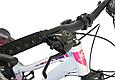 """Горный велосипед TopRider 900 26"""" Белый/Розовый, фото 8"""