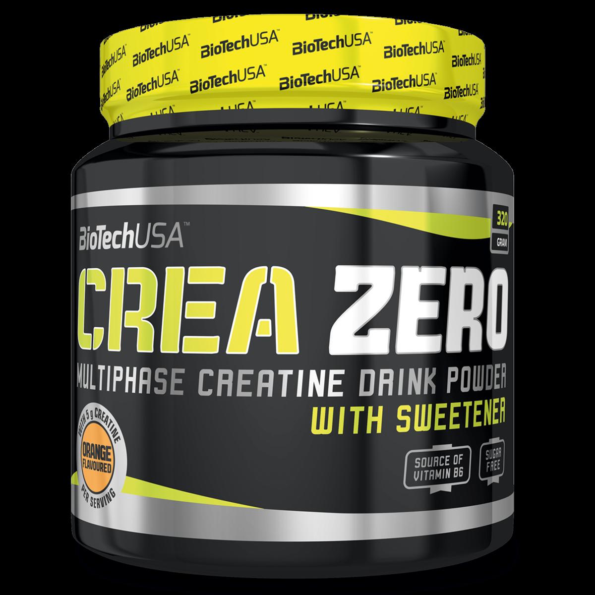 Креатиновый комплекс CREA ZERO 320г Вкус : Апельсин