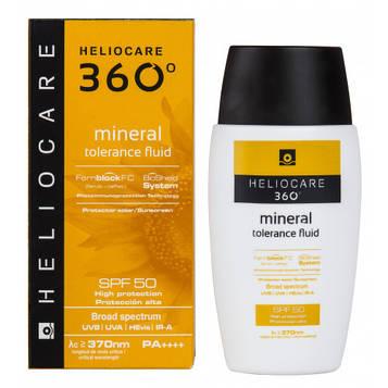Солнцезащитный минеральный  крем-флюид с  SPF 50 Cantabria HELIOCARE  50мл 14552