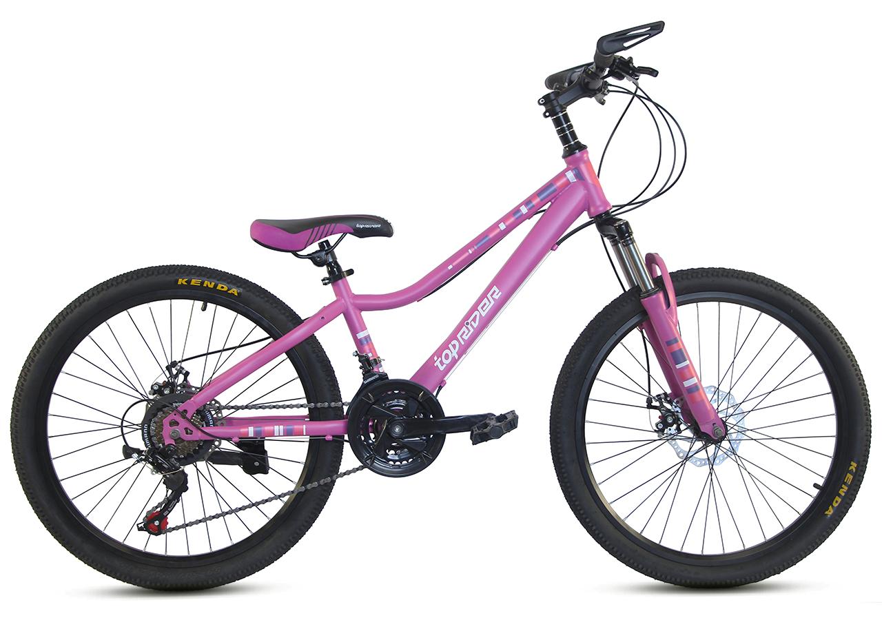 """Горный велосипед TopRider 900 24"""" Фиолетовый"""