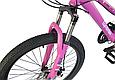 """Горный велосипед TopRider 900 24"""" Фиолетовый, фото 4"""
