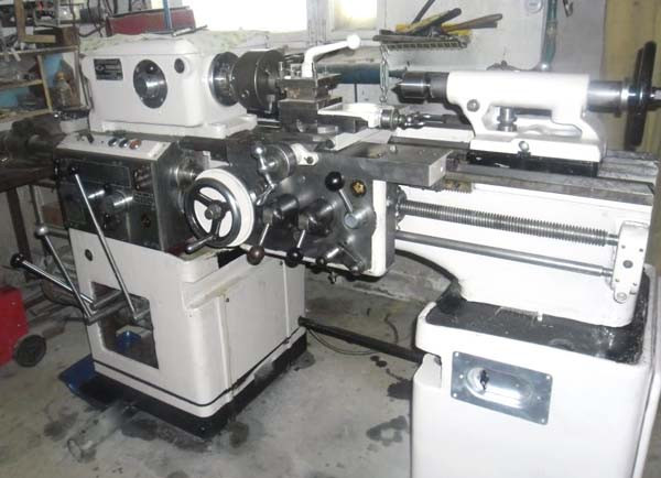 Комплект УЦИ и линеек DELOS для токарно-винторезного станка ИЖ-250 (1И611П)