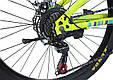 """Подростковый велосипед TopRider 900 24""""  Лимонный, фото 4"""