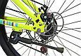 """Подростковый велосипед TopRider 900 24""""  Лимонный, фото 7"""