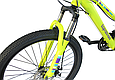 """Подростковый велосипед TopRider 900 24""""  Лимонный, фото 8"""