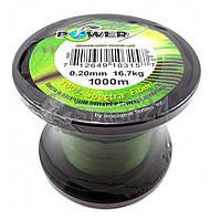 РАСПРОДАЖА ОСТАТКОВ. Рыболовный плетеный шнур 4 жильный Power-Pro диаметром от:0.10 мм. до 0.50 мм.