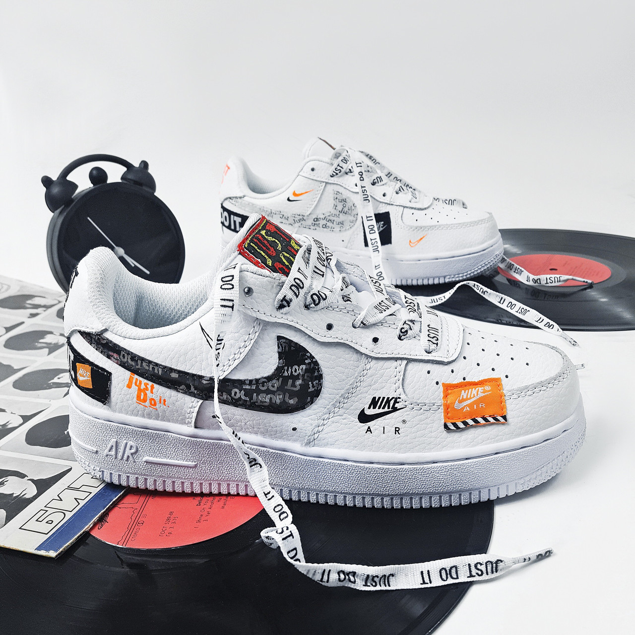 00d3819a Кроссовки Nike Air Force 1 Just Do It White - Интернет-Магазин IMPERIAL  STORE в