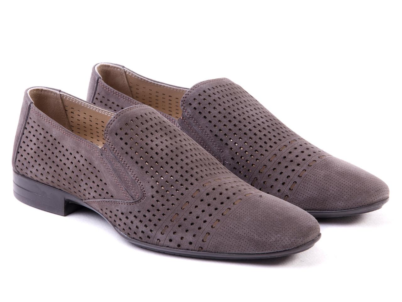 Туфли Etor 11496-7118-16530 серые