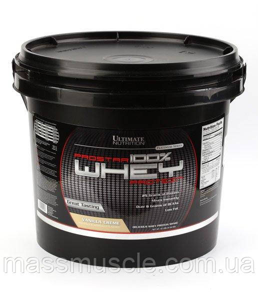 Протеин Ultimate Nutrition PROSTAR Whey PROTEIN 4540 g