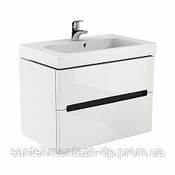 MODO шкафчик под умывальник 80*65*48 см белый глянец (пол.)
