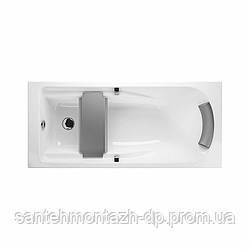 COMFORT PLUS ванна 170*75см, прямоугольная, с ручками, с ножками SNC1
