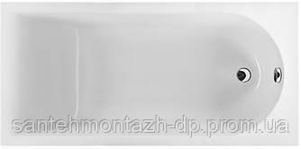MIRRA ванна прямоугольная 160*75 см, с ножками SN0 и элементами крепления