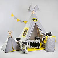 Вигвам - палатка в наборе «Серия Супергероев - Бэтмен»