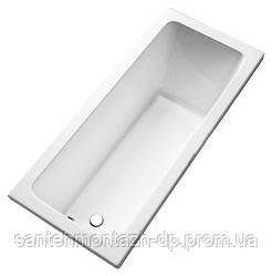 MODO прямоугольная ванна 170*75см, боковой слив, с ножками SN7