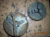 Патроны токарные ф250, ф315, 400 и плиты магнитные, головки