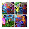 Детский игровой коврик для малышей, zoo, фото 5