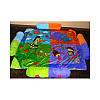 Детский игровой коврик для малышей, zoo, фото 6