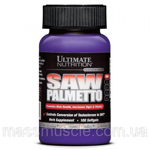 Ягоды Пальметто Ultimate Nutrition Saw Palmetto 100 caps
