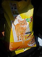 "Friskies ""С мясом ,печенка"" - 10 кг Фрискис корм для котов"