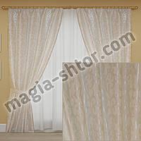 Жаккардовые шторы для спальни, детской, фото 1