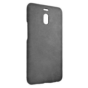 Чехол-накладка DK-Case кожа открытая для Meizu M6 Note (grey)