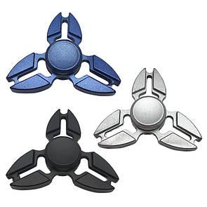 Fidget Spinner DK-Case triple blades Sight (silver)