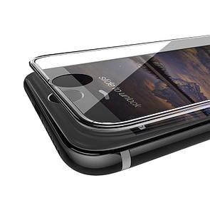 Защитное стекло DK-Case Silicone Edge для Apple iPhone 6/6S Plus (clear)