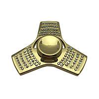 Fidget Spinner DK-Case triple blades Diamond (gold)