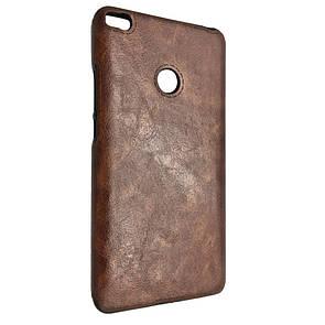 Чехол-накладка DK-Case силикон кожа Sitched для Xiaomi Mi Max 2 (brown)