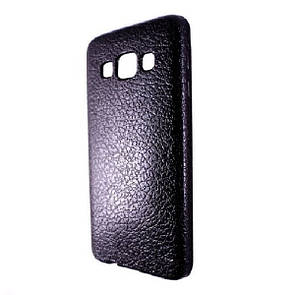 Чехол-накладка DK-Case силикон под кожу для SAMSUNG A300 (black)