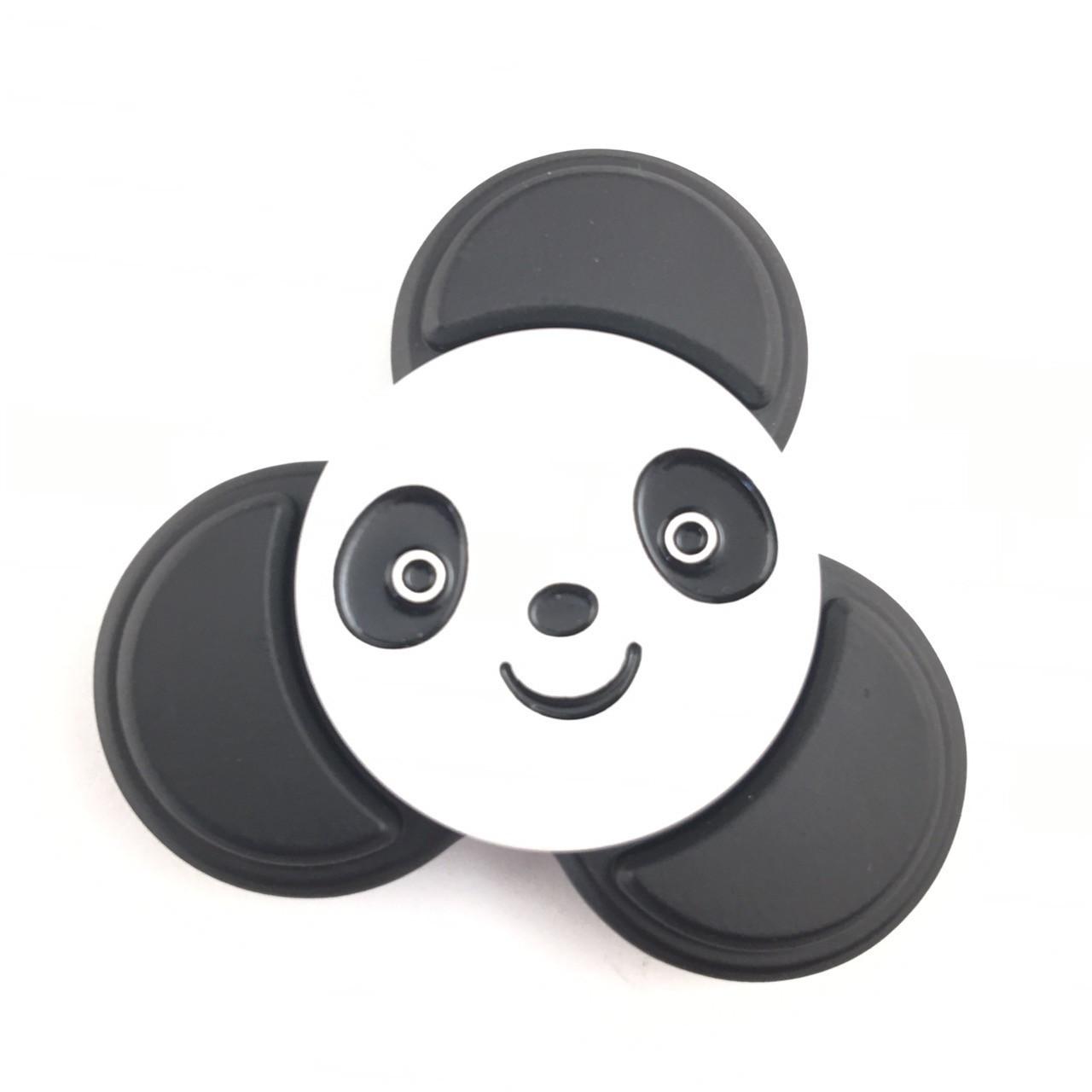 Fidget Spinner DK-Case triple blades Panda (black)