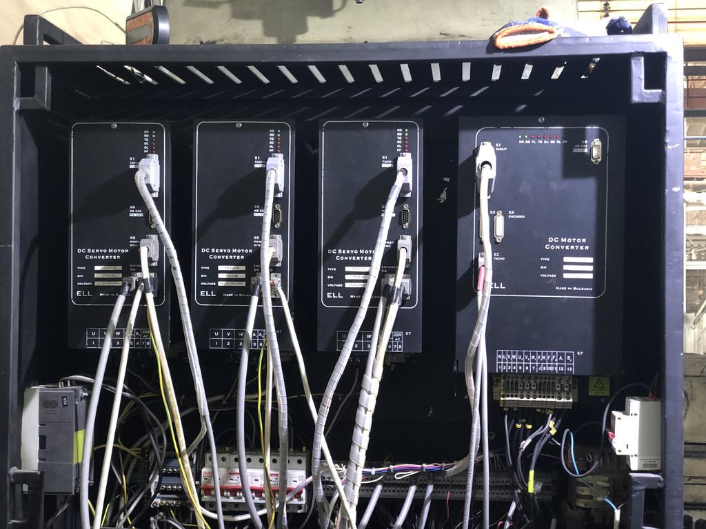 Монтаж и настройка приводов ELL4004 и ELL12030/130 на координатно-расточном станке 2Е450