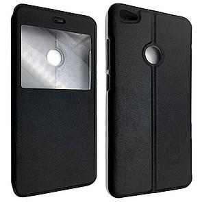 Чехол-книжка DK-Case кожа с пластиком Flip Cover Stitched для Xiaomi Redmi Note 5A Prime (black)
