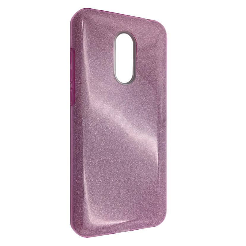 Чехол Silicone Glitter Heaven Rain Xiaomi Redmi 5 (pink)