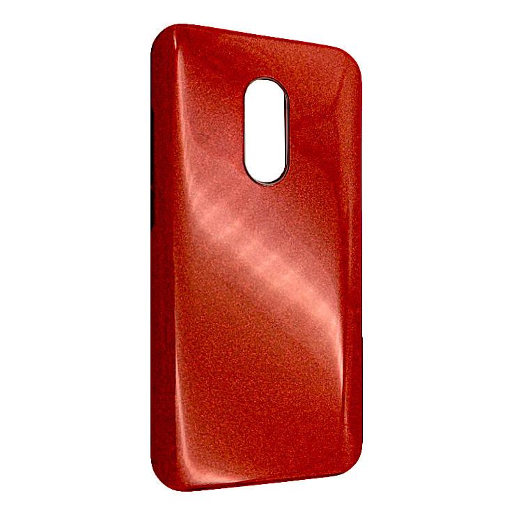 Чехол Silicone Glitter Heaven Rain Xiaomi Redmi 5 (red)