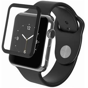 Защитное стекло  весь экран for Apple Watch 38mm (black)