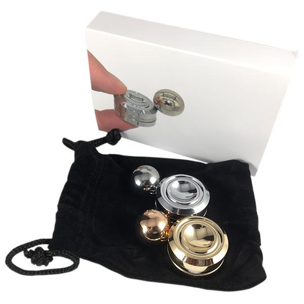 Fidget Spinner Magnetic (gold)