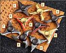 Fidget Spinner DK-Case triple blades Ninja (08), фото 2