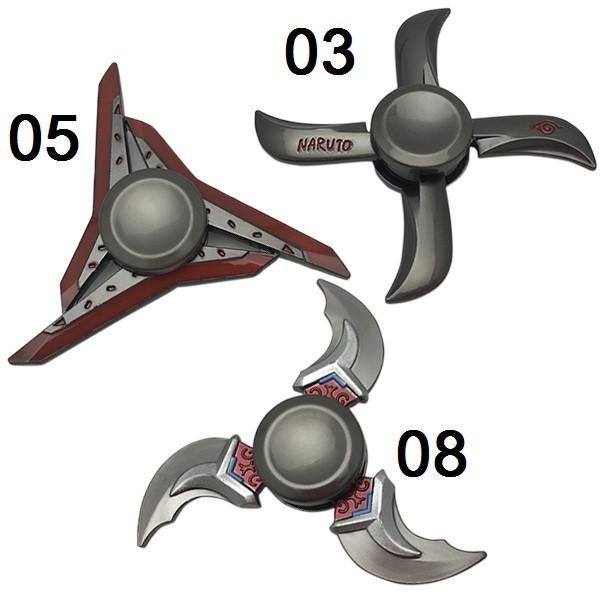 Fidget Spinner DK-Case triple blades Ninja (08)