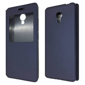 Чехол-книжка DK-Case на силиконе для Meizu M5c (dark blue)