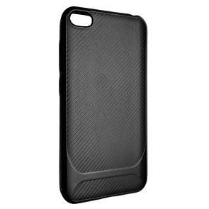 Чехол-накладка DK-Case Silicone SGP Carbon для Xiaomi Redmi Go (black)