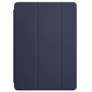 "Чехол-книжка кожа Smart Cover для Apple iPad 9.7"" New (2018) (dark blue)"
