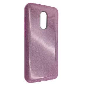 Чехол Silicone Glitter Heaven Rain Xiaomi Redmi 5 Plus (pink)