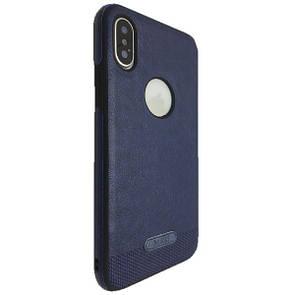 Накладка DK-Case силикон кожа Mikki for Apple iPhone X (blue)