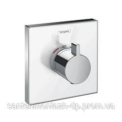 ShowerSelect  Highflow Термостат с высокой прускной способностью, скрытый монтаж, белый/хром