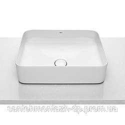 INSPIRA Square умывальник 500*370*140мм, квадратный, накладной, без отв. под смеситель, без перелива